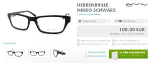 Barth Optik Nereo Schwarz