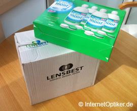 Pflegemittel für Kontaktlinsen bei Lensbest