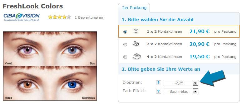Wählen Sie für späteste baby achten Sie auf Farbige Kontaktlinsen: Informationen & Erfahrungen