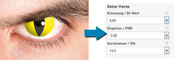 Motivlinsen mit Stärke bei Linsenquelle.de
