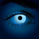Halloween Kontaktlinse FLUO