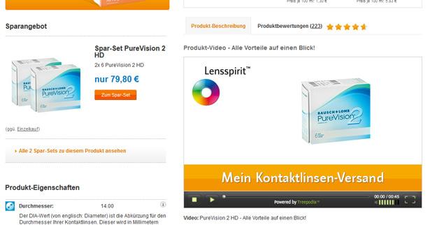 Produktvideos bei lensspirit.de