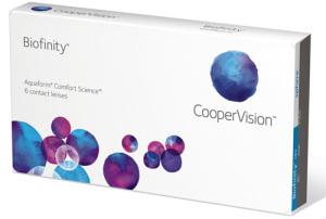 Preisvergleich zur Kontaktlinse Biofinity von CooperVision