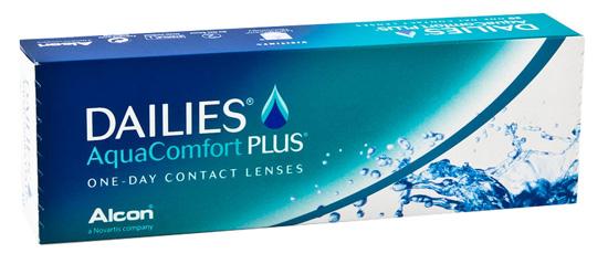 Preisvergleich zur Dailies AquaComfort Plus Tageslinse von Alcon