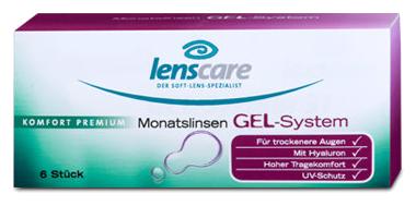 Gel System Monatslinsen von Lenscare