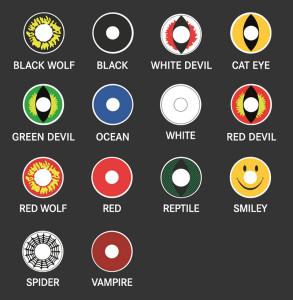 Motive der Crazy Lenses