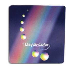 1Day Bi-Color farbige Tageslinsen
