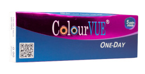 ColourVUE One-Day - farbige Tageslinse