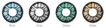 Wählbare Farben der IMAGES Tageslinse
