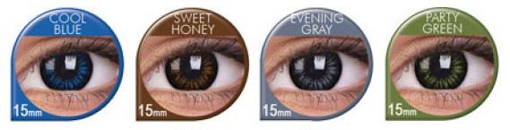 Colourvue Big Eyes 15mm Farbauswahl