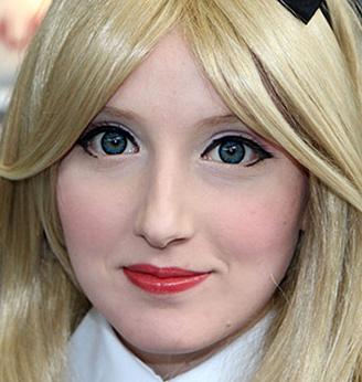 Beispiel für Manga Kontaktlinsen