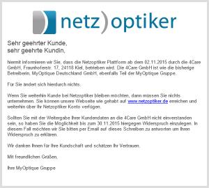4Care GmbH betreibt Netzoptiker.de