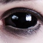 Sabretooth zu Halloween (Sclera Kontaktlinse 22mm)