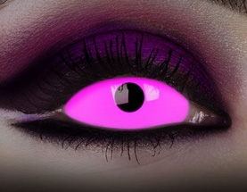 Sclera-Kontaktlinse mit UV