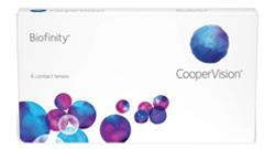 Biofinity von CooperVision auf Platz 2 der beliebtesten Monatslinsen 2015