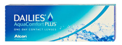 Platz 2 im Tageslinsen-Ranking 2016: Dailies AquaComfort Plus