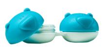 Blauer Bär Kontaktlinsenbehälter