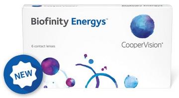 Neu: Biofinity Energys von CooperVision