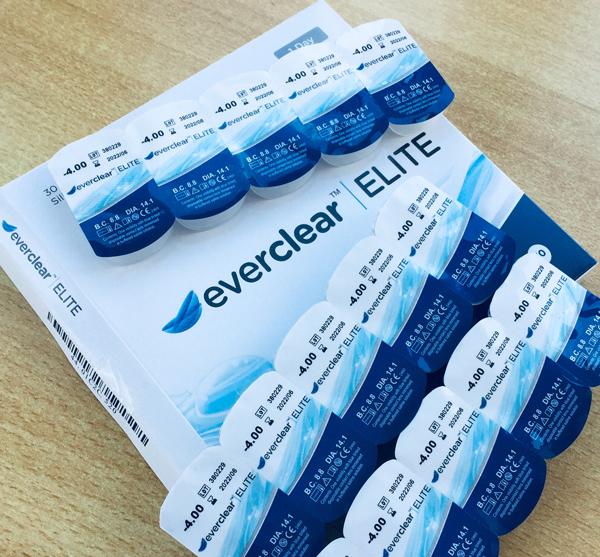Blister-Verpackungen der Tageslinse everclear ELITE